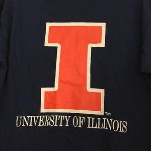 Comfort Colors Tops - NWOT University of Illinois T-Shirt